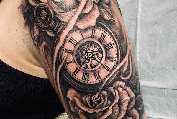 Clock-Rose
