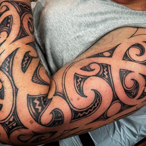 MaoriKoruSleeve